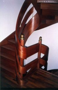 Domański Schody projekty z drewna