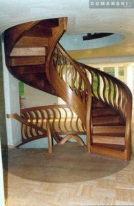 Domański schody okrągłe wymiary