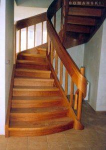 Domański schody okrągłe wewnetrzne