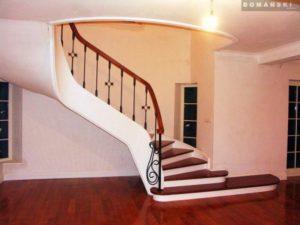 Domański schody klasyczne drewniane