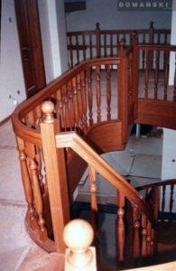 drewniane balustrady