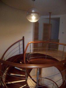Domański nowoczesne schody dębowe