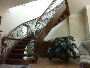 Domański schody drewniane debowe