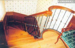 Domański lekkie schody drewniane