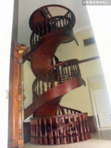 Domański schody spiralne ceny