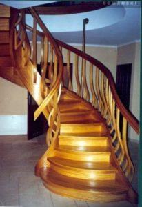 Domański projekt schodów kręconych
