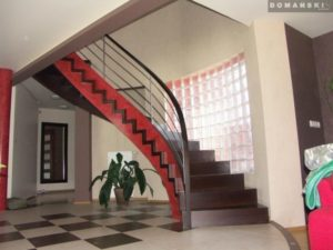 Domański eleganckie schody