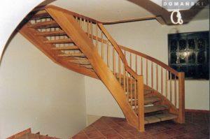 Domański schody drewniane na wymiar