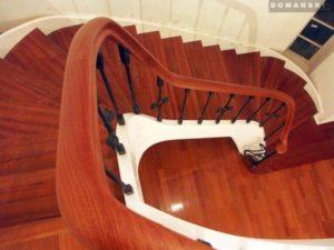 Domański schody dębowe jasne