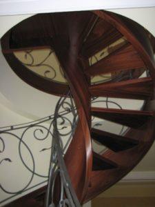 Domański schody kręte drewniane