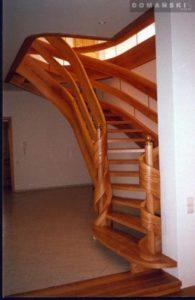 Domański producent schodów drewnianych