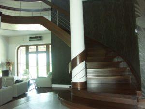 Domański nowoczesne schody spiralne