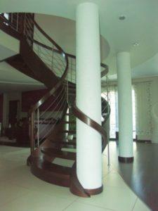 Domański schody spiralne