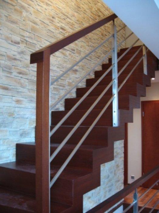 Domański stylowe schody wewnętrzne