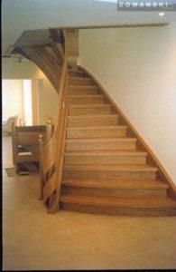 Domański schody proste