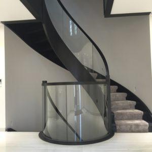 Domański drewniane schody nowoczesne