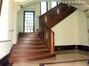 Domański schody drewniane na zamówienie częstochowa