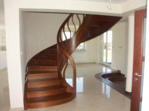 Domański schody drewniane pełne