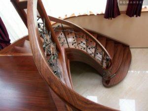 Domański nowoczesne schody kręcone