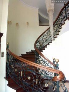 Domański schody wewnętrzne wymiary
