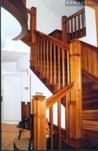 Domański schody drewniane na zamówienie