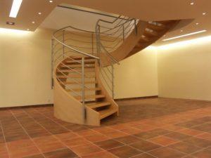 Domański projekt schodów drewnianych