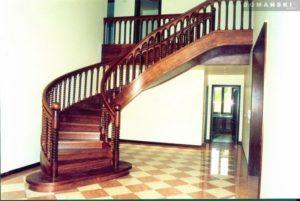 Domański schody kręcone producent