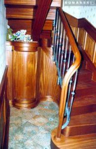 Domański jasne schody drewniane