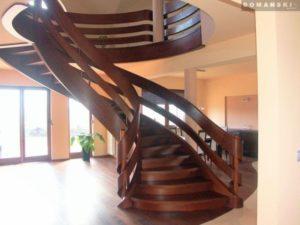 Domański dębowe schody zdjęcia
