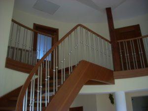 metalowe balustrady na Schody