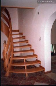 Domański schody drewniane wewnętrzne zdjęcia