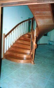 Domański schody krecone drewniane