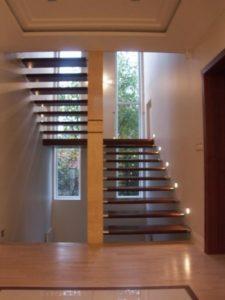 Domański schody drewniane dębowe