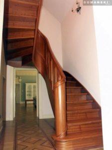 Domański schody drewniane proste wymiary