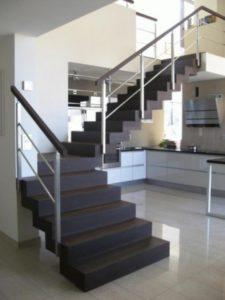 Domański schody proste wewnętrzne