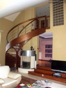 Domański schody bukowe zdjęcia