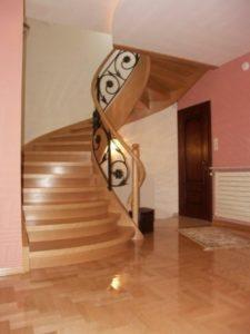 Domański modne schody drewniane
