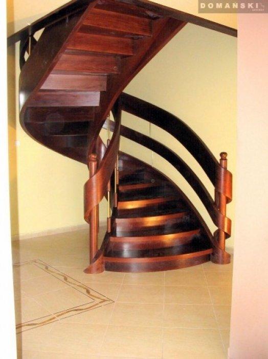 Domański nowoczesne schody wewnętrzne