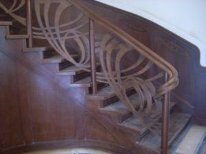Domański schody drewniane projekt