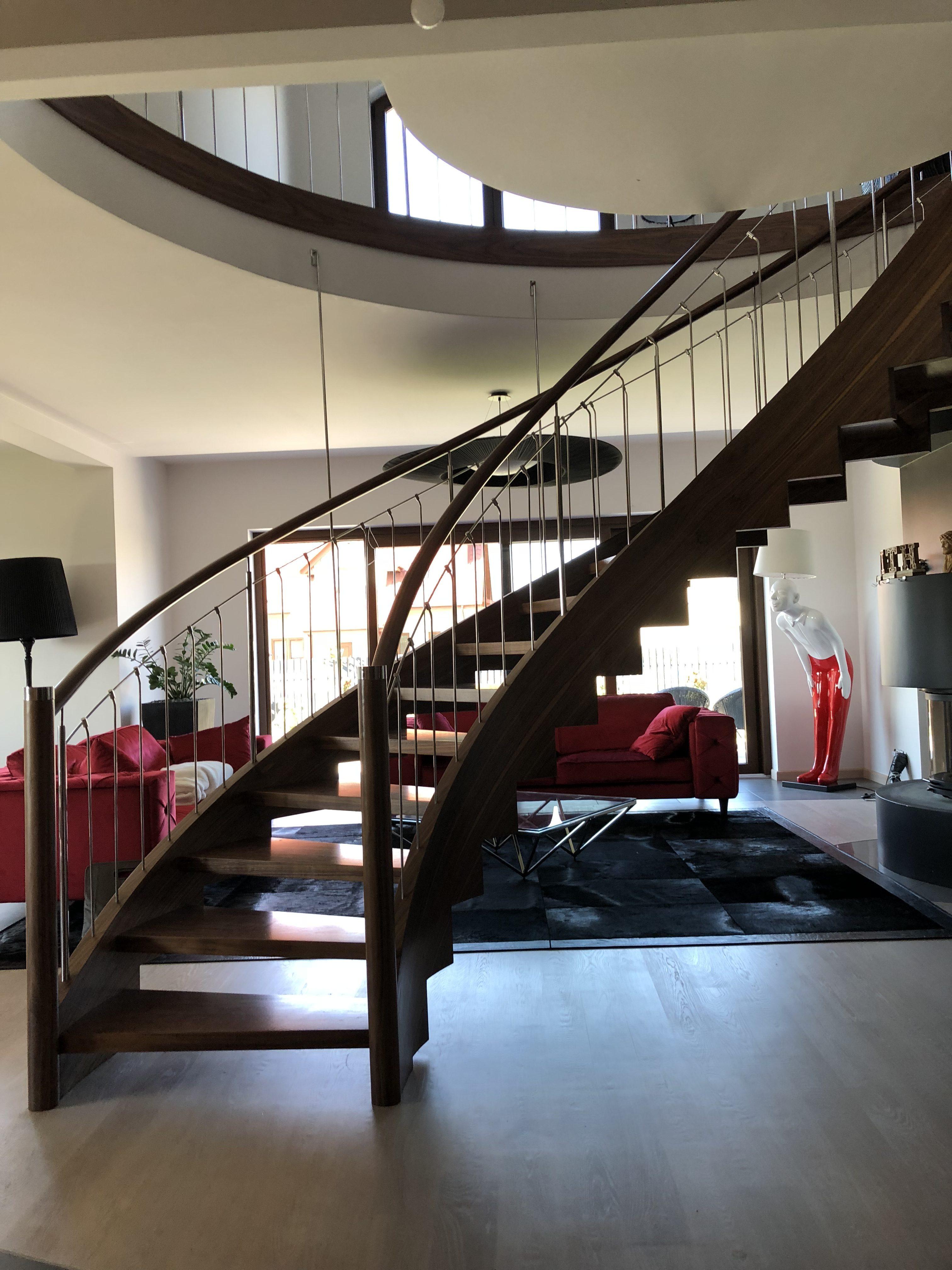 schody drewniane zdjęcia firmy domański