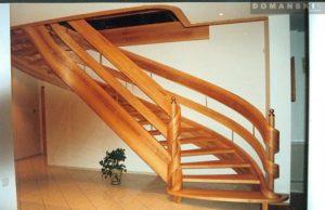 Domański schody krecone nowoczesne