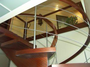 projekt schodów Domański