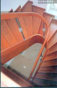 schody drewniane galeria Domański
