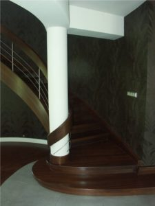 wzory schodów drewnianych Domański