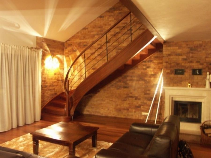 projekt schodów kręconych firmy Domański