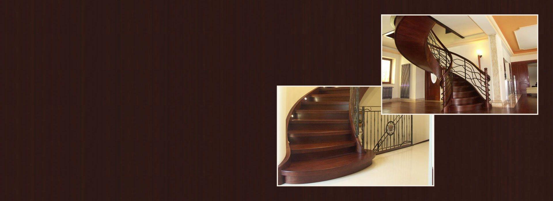 schody drewniane Domański